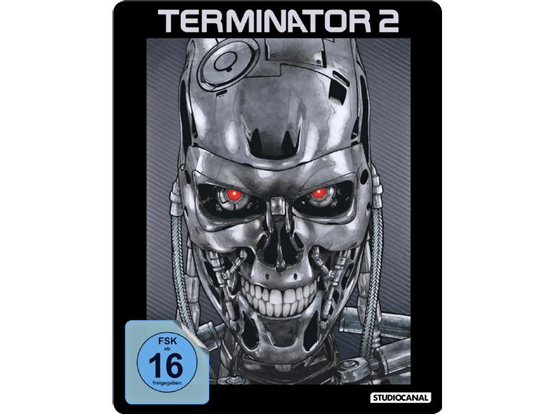 Terminator 2 (Limited Steelbook) (Blu-ray) für 12€ (Mediamarkt WSV)