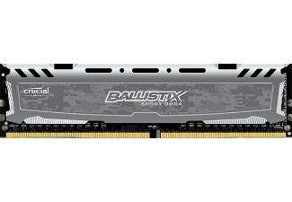 Crucial Ballistix Sport DIMM DDR4-2400 8GB (1x 8GB) für 33€ [Mediamarkt]