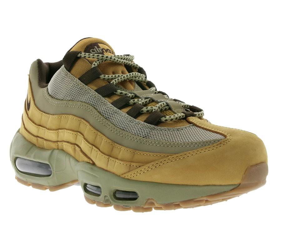 NIKE Air Max 95 Premium Herren Sneaker Bronze/Baroque Brown/Bamboo anstatt 180EUR für 89,99 EUR bei outlet46.de