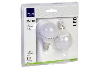 [Media-Markt] 6 x MÜLLER-LICHT 26217 LED Leuchtmittel E14 Warmweiß 3 Watt 250 Lumen für 4,99€ Versandkostenfrei / Spitzenpreis von 0,83€ pro Stück / 0,815€ mit Shoop