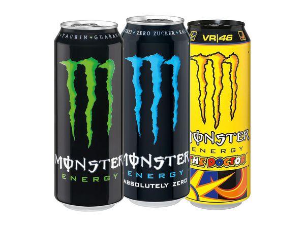 [NORDHESSEN] Monster Energy versch. Sorten 0,5l für nur 0,69€ ab Montag 30.01.17