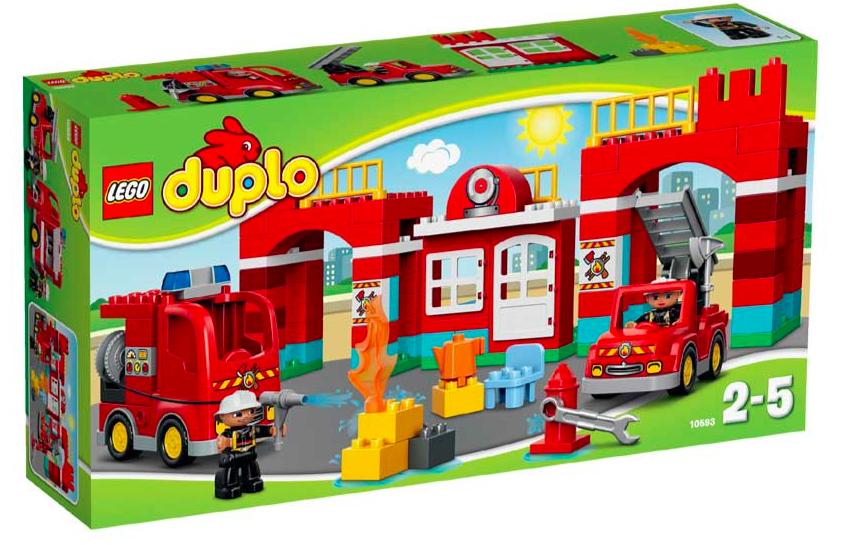 Lego Duplo 10593 Feuerwehr-Hauptquartier für 37,98€ bei [Intertoys]