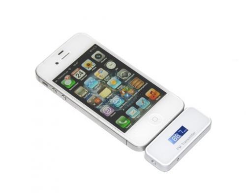 FM Transmitter Radio für Apple iPhone, iPad, iPod für 12,33€ @MeinPaket.de