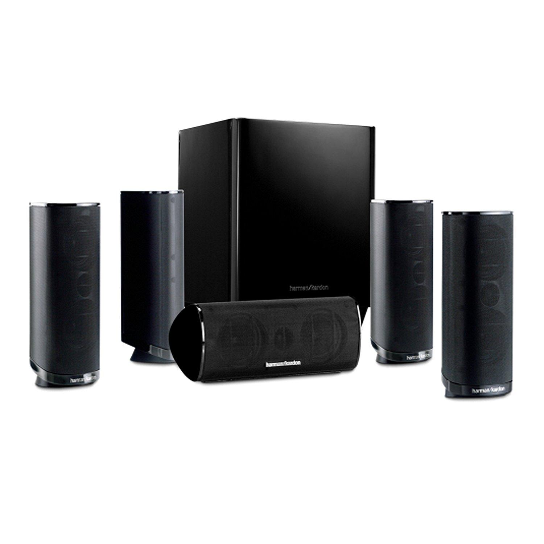 HARMAN KARDON 5.1-Heimkino-Lautsprechersystem HKTS 16BQ schwarz