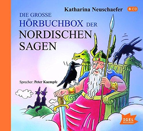 """[Amazon Prime] Hörbuchbox """"Nordische Sagen"""" sehr günstig"""