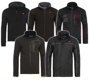 Lee Cooper Performance Workwear Herren-Softshelljacken in 5 Modellen @outlet46