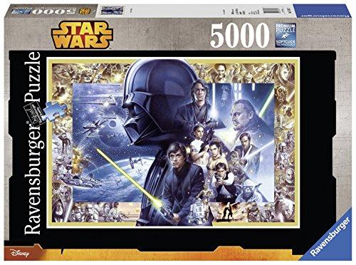 5000 Teile Star Wars Puzzle heute 69% reduziert bei Amazon