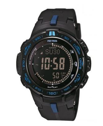 [Uhrzeit.org] Casio Pro Trek Kanjut Sar Solar Funkuhr Herrenuhr PRW-3100Y-1ER
