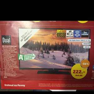 "49"" LED TV mit Smart TV in FULL HD in HH-Bramfeld/Sasel"