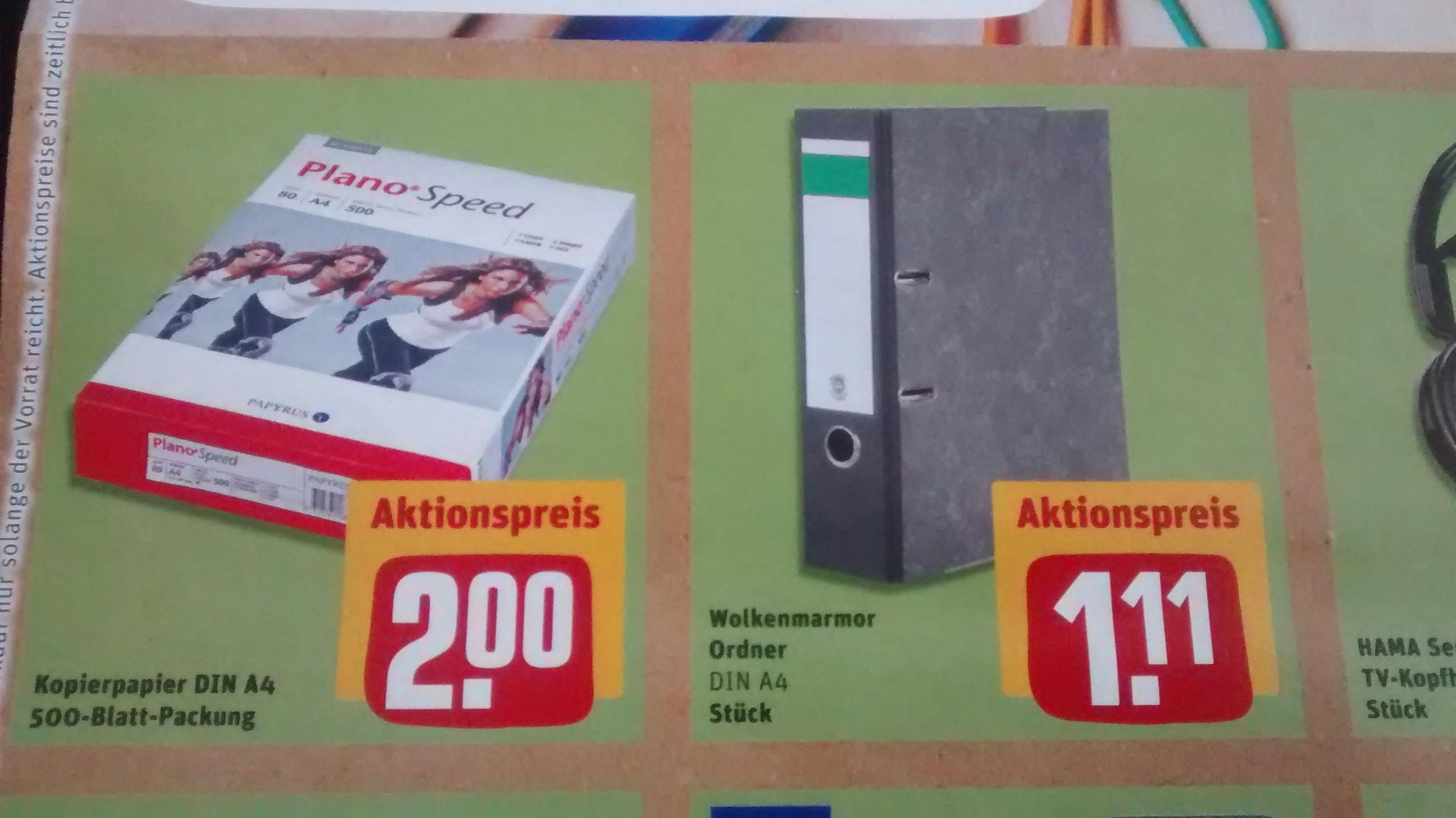 [Hamburg REWE Center] Kopierpapier weiß / 80g / 500 Blatt - 2,00€ Ab 30.01.17