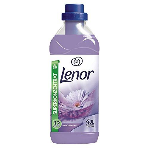 [Amazon Prime] Lenor Lavendelphantasie Weichspüler, 800 ml, 12er Pack (12 x 32 Waschladungen)