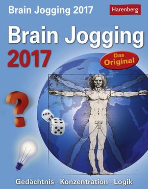 Terrashop: Brain Jogging 2017 Logik - Abreißkalender