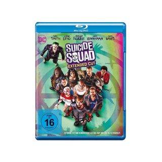 Suicide Squad inkl. Extended Cut [Blu-ray] für 13,99€ abzgl. 20% Neukundenrabatt ab 15,00 Euro VK Frei bei Preisgeflüster