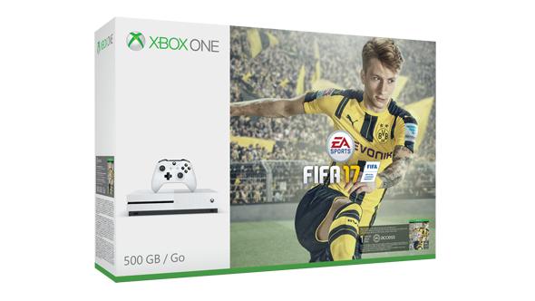 Xbox One S 1TB + Fifa 17 für 259€ [Microsoft Store FI]