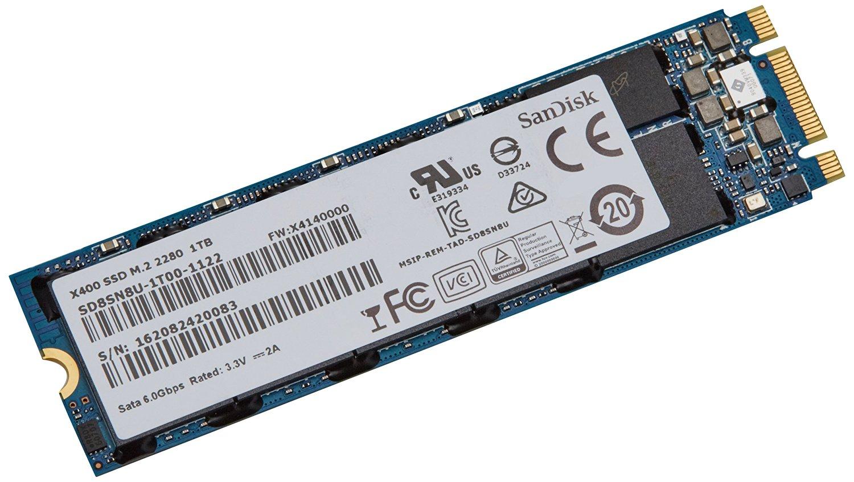 SANDISK X400 SSD M.2 2280 1TB von Amazon (versandfertig in 2 bis 5 Wochen)