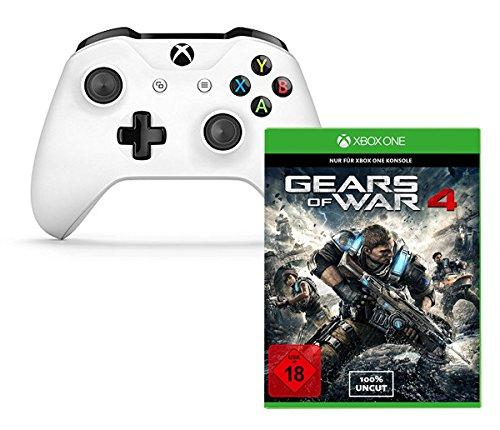 (Amazon) Gears of War 4 + Xbox Wireless Controller Weiß für 74,99€