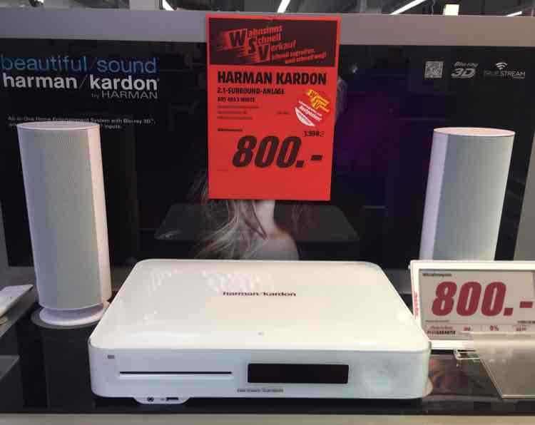 """""""Abgelaufenen """" """"Local"""" Harman Kardon BDS 485S für 800€"""