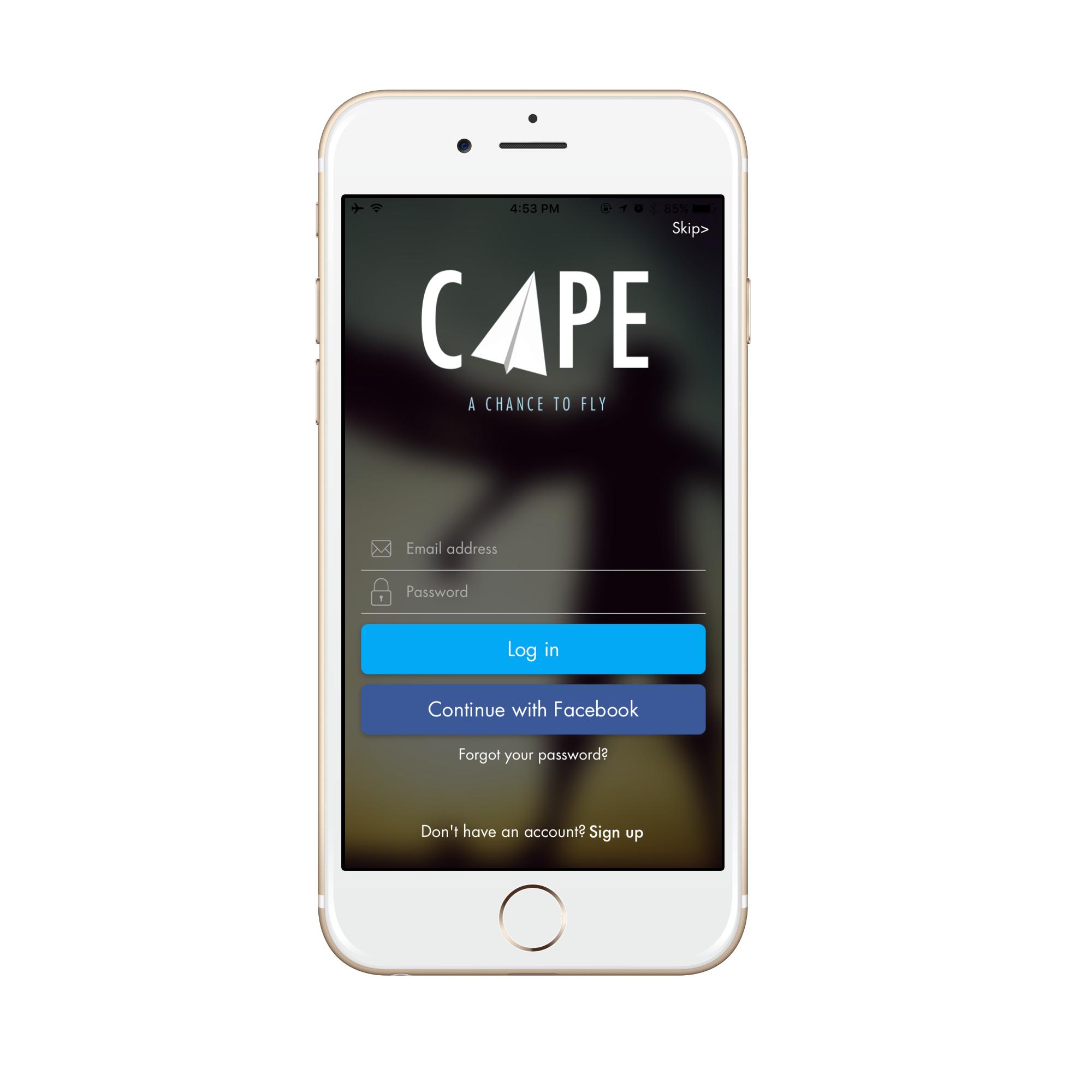 Cape App - Last Minute Standby Tickets für alle