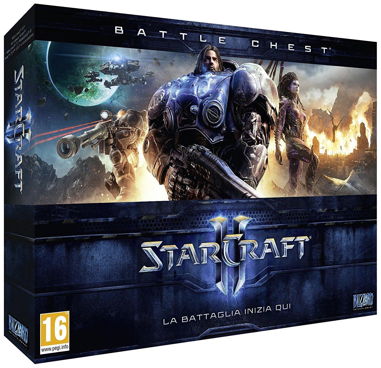 StarCraft II: Battle Chest (PC) für 16,76€ (Amazon.it)
