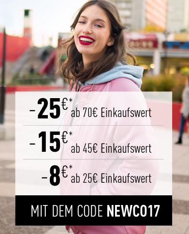 Bis zu 25€ Staffelrabatt (bei MBW 70€) auf die neue Kollektion bei Pimkie