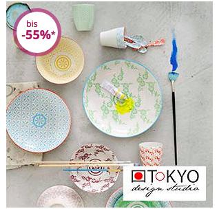 Nur noch heute: Porzellan von TOKYO Design Studio bis zu 55% reduziert bei Limango