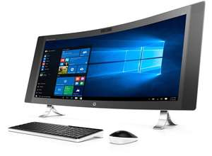 "HP ENVY 34"" Curved All-in-One 34-a090ng (Intel Core i7, 8GB RAM, 128GB SSD, 1 TB HDD, WQHD Display & NVIDIA GeForce GTX 960A) für 2117€ im HP Education Store"