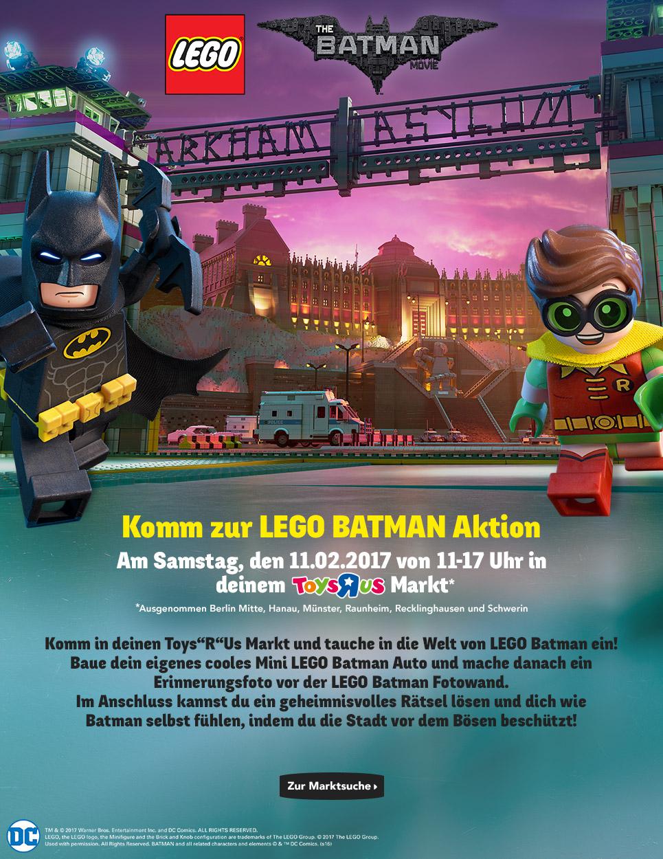 LOKAL [TOYSRUS] LEGO BATMAN Aktion