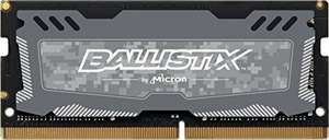 Crucial Ballistix Sport LT 4GB DDR4 2400MHz SO-DIMM CL16 für 23,99€ (Amazon Prime)