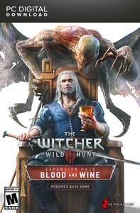 The Witcher 3: Wild Hunt - Blood and Wine (GoG) für 11,99€ (Amazon)