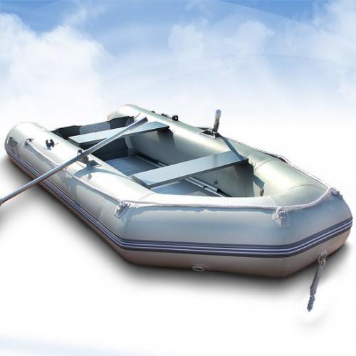 Schlauchboot (Angelboot) 320x150cm mit Aluboden bis 15PS