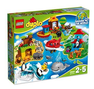 Lego Duplo 10805 Einmal um die Welt für 58,36€ bei Abholung @[real] + 20% Rabatt auf Produkte der Babywelt