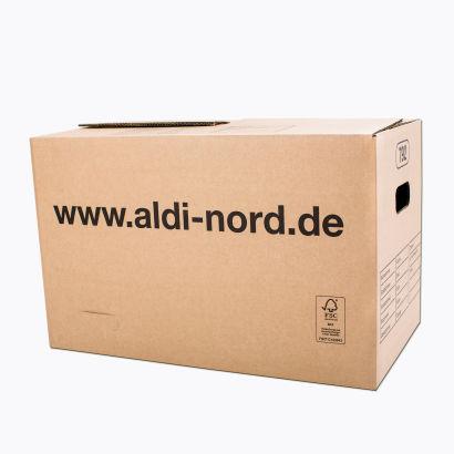 Ab 6.2.17 bei Aldi Nord: Einzelne stabile XL Umzugskartons (600*370*350) für 1,59 €
