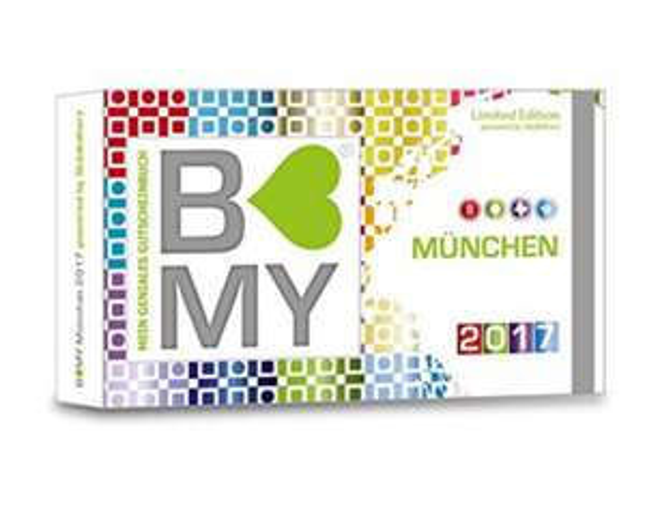 Gutscheinbuch B-MY München 25,00€ statt 39,90€ [lokal]