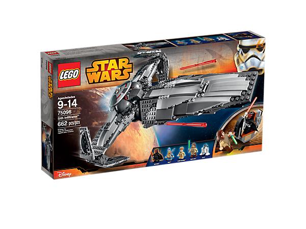 Kleiner Sale bei LEGO u.a. Sith Infiltrator für 49,99 statt UVP 99,99