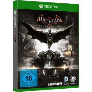 Batman Arkham Knight (Xbox One) für 16,68€ (Conrad + Amazon)