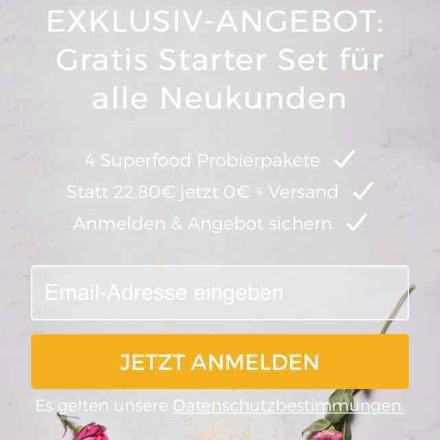 Goodme.de Starter-Set für 3,90 Euro inklusive Versand für alle Neukunden (NL-Anmeldung)