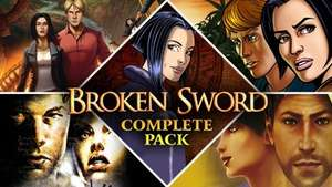 Broken Sword Complete Pack (= Baphomets Fluch 1-5) (Steam) für 4,38€ [Bundlestars]