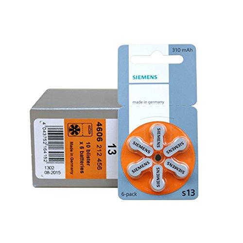 Siemens Hörgerätbatterien zum Schnäppchenpreis