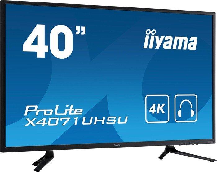 iiyama Prolite X4071UHSU-B1 Monitor (39,5'' UHD MVA matt, 350cd/?m², 5.000:1, 4ms, HDMI 2.0 + DP, USB 3.0, VESA) für 465€ [Surffact]