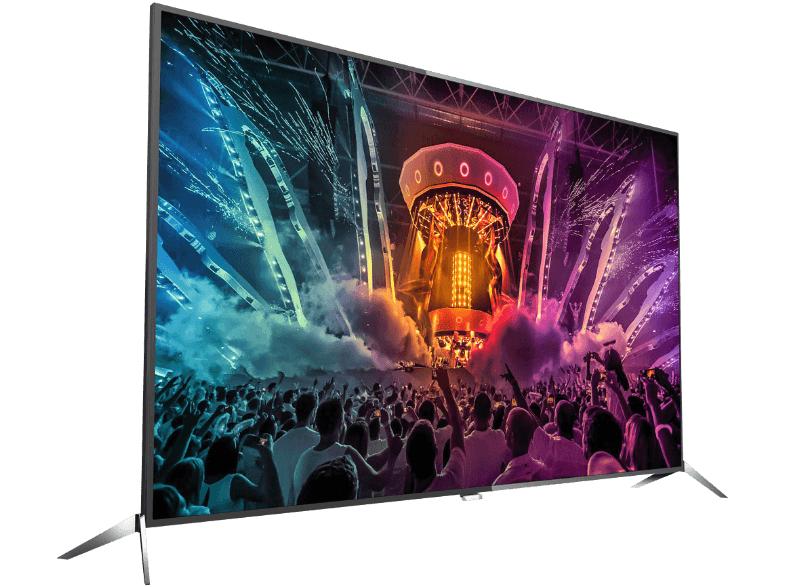 Philips 65PUS6121/?12, LED Fernseher, 164 cm (65 Zoll), 2160p (4K Ultra HD), Smart-TV, schwarz, Energieeffizienzklasse A++  für 866,-€ Versandkostenfrei [Mediamarkt]