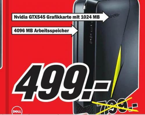 [Lokal] Alienware X51 für 499 anstatt 799 im Mediamarkt Essen als I5+555gtx für 699 anstatt 899