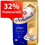 [Migros-Shop] Schümli Kaffee Mild, Crema & Espresso zu je 9,99€ das Kilo und dazu Versandkostenfrei
