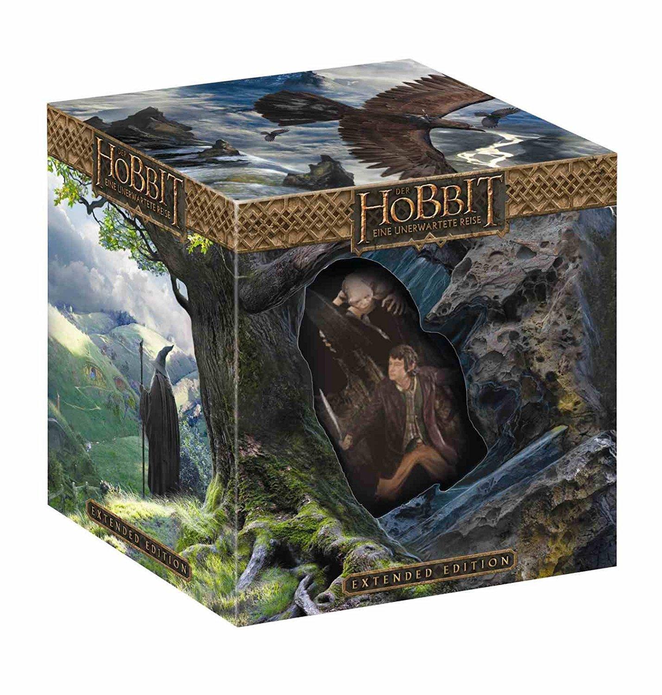 Der Hobbit: Eine unerwartete Reise Sammleredition (3D Blu-Ray) inkl. Figur bei Alphamovies