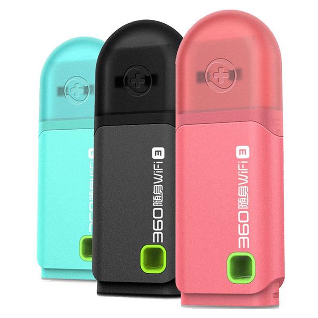 Original 360 Portable Wi-Fi 3nd - WLAN-HotSpot - 802.11n/g/b - 300Mbit - MIMO Dual PIFA @aliexpress