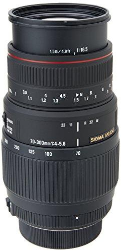 Sigma 70-300mm f4.0-5.6 DG APO Makro (Nikon) für 119,40€ @ Amazon UK