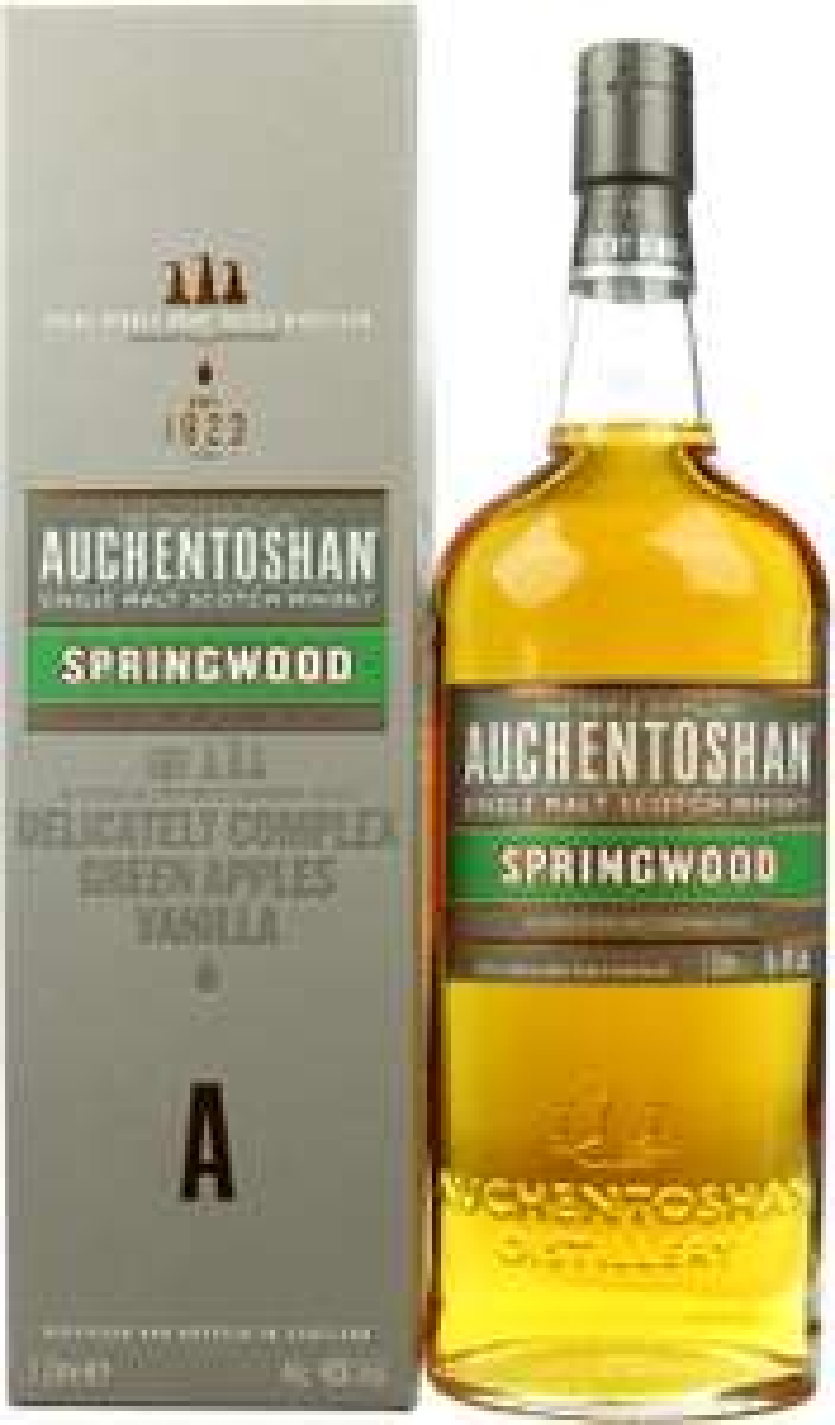 Whisky - Auchentoshan Springwood 1 Liter - 19,99€ (Grenzgänger CZ Travel-Free-Shop)
