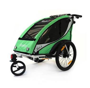 Qeridoo Nani 2 Fahrradanhänger für 251,99€ versandkostenfrei bei [Nakiki]