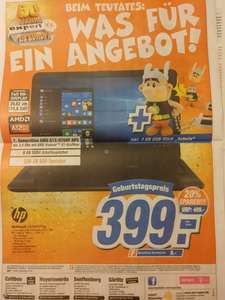 [esc-expert] HP Notebook 15-ba077ng 399€ (PVG Idealo: 450€) + 4 GB Asterix USB Stick