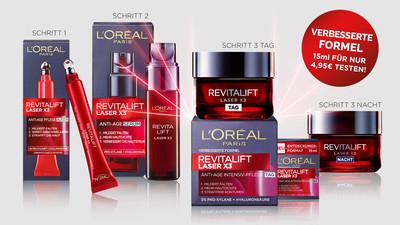 L'ORÈAL PARiS Revitalift Laser X3 Tagespflege gratis Probe