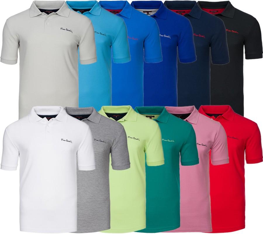 Outlet46  Polo Shirts verschiedene Farben für 5,99€ von Pierre Cardin